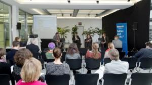 Pressekonferenz der INA beim Deutschlandfunk