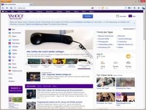 Abb 7_02 Suchmaschine und Portal Yahoo
